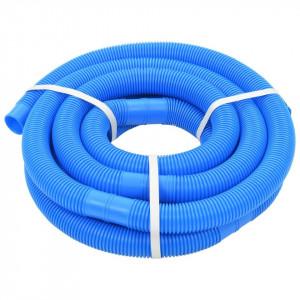 Furtun de piscină, albastru, 38 mm, 6 m