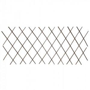 Gard cu zăbrele, 5 buc.,180 x 60 cm, salcie