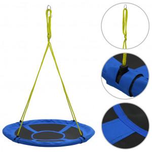 Leagăn, albastru, 110 cm, 100 kg