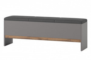 Livorno 65 banca oak wotan/bazaltowo-grey