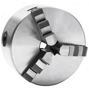 Mandrină de strung cu 3 fălci, oțel, 125 mm