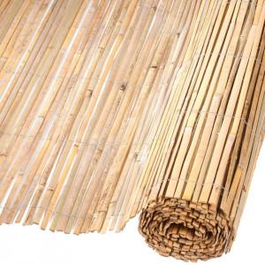 Nature Paravan de grădină, 1,5 x 5 m, bambus