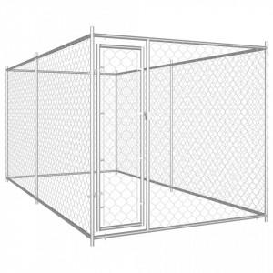 Padoc pentru câini de exterior, 382 x 192 x 185 cm