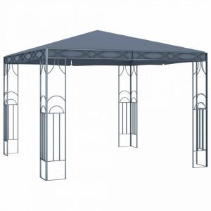 Pavilion, antracit, 300 x 300 cm
