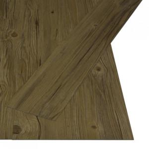 Plăci autoadezive pardoseală maro PVC 4,46 m² 3 mm