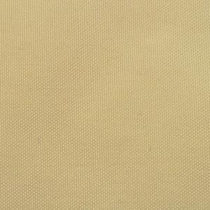 Prelată balcon, material textil oxford, 75 x 600 cm, bej