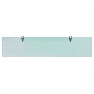 Raft suspendat din sticlă, 90 x 20 cm, 8 mm