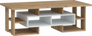 RIO COFFEE TABLE N RIO-11 CRAFT WHITE/CRAFT GOLDEN