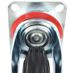 Roți pivotante, 8 buc., 160 mm