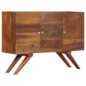 Servantă, maro, 110 x 30 x 75 cm, lemn masiv reciclat
