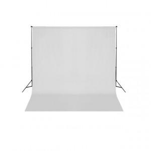 Sistem de suport fundal, 600 x 300 cm, alb