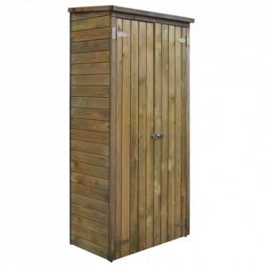 Șopron de scule pentru grădină, 85 x 48 x 177 cm, lemn de pin