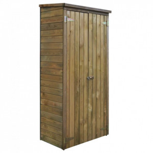 Șopron scule grădină, lemn de pin FSC, 85 x 48 x 177 cm