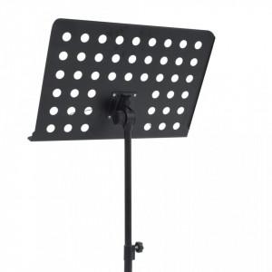 Stativ pentru partituri muzicale, negru, oțel