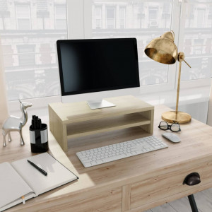 Suport monitor, stejar Sonoma, 42 x 24 x 13 cm, PAL