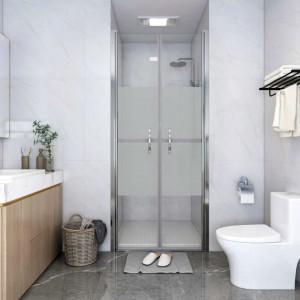 Ușă cabină de duș, jumătate mat, 96 x 190 cm, ESG