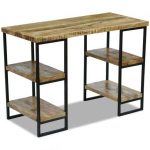 Masă de birou din lemn de mango, 110 x 50 x 76 cm