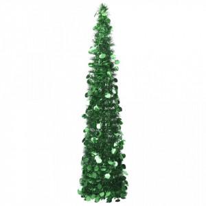 Brad de Crăciun artificial tip pop-up, verde, 150 cm, PET