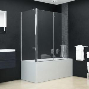 Cabină de duș dublu-pliabilă, 120 x 68 x 140 cm, ESG