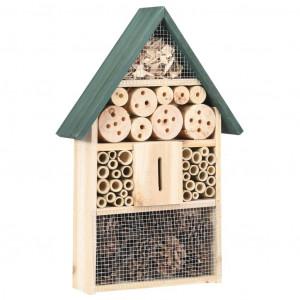 Casă de insecte, 31x10x48 cm, lemn de brad