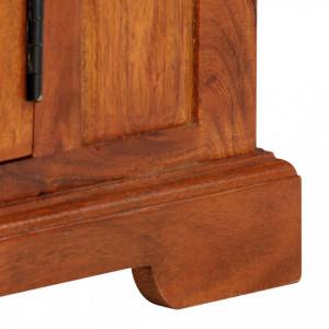 Comodă TV, 119 x 30 x 40 cm, lemn masiv de acacia
