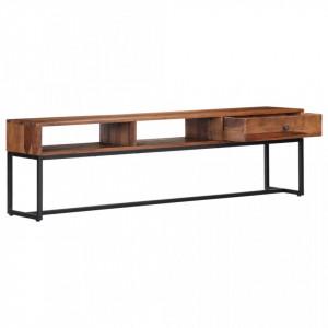Comodă TV, 160 x 30 x 45 cm, lemn masiv de sheesham