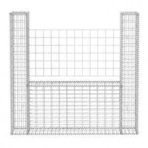 Coș Gabion în formă de U din oțel 160 x 20 x 150 cm