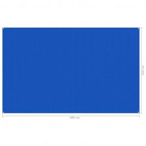 Covor pentru cort, albastru, 250x400 cm