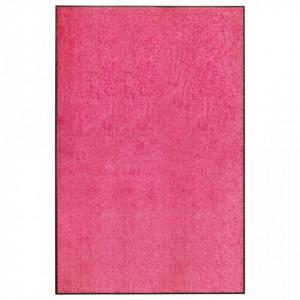 Covoraș de ușă lavabil, roz, 120 x 180 cm