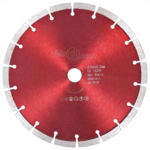Disc diamantat de tăiere, oțel, 230 mm