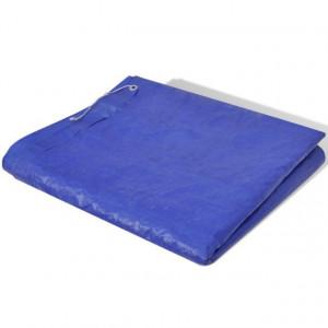 Folie pentru piscină dreptunghiulară din PE 90 g/mp 400 x 207 x 10 cm