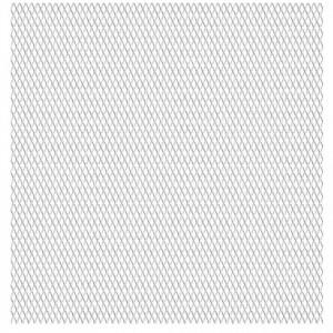 Gard de sârmă grădină, 100x85 cm, 30x17x2,5 mm, oțel inoxidabil