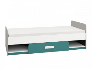 Iq 12 (Rama de pat) Grey Platinum/White/Marine Blue