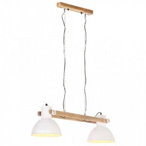 Lampă suspendată industrială, 25 W, alb, 109 cm, E27
