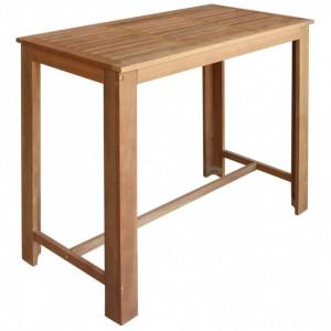 Masă de bar, lemn masiv de salcâm, 120 x 60 x 105 cm