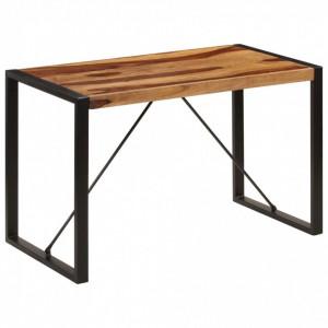 Masă de bucătărie, 120 x 60 x 76 cm, lemn masiv de sheesham
