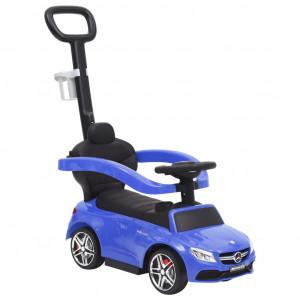 Mașinuță cu împingere Mercedes-Benz C63, albastru