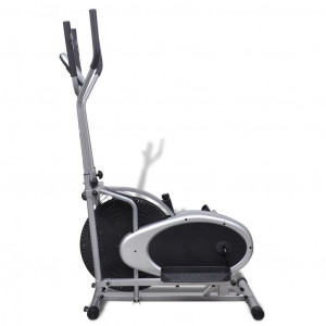 Orbitrac Bicicletă de fitness eliptică, 4 mânere pentru puls