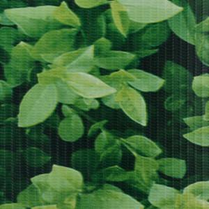 Panou de intimitate grădină, verde, 35 x 0,19 m, PVC