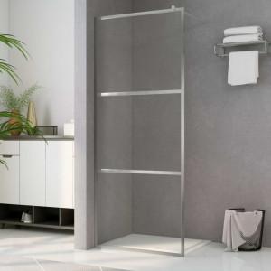 Paravan de duș walk-in, 90 x 195 cm, sticlă ESG transparentă
