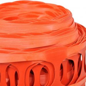 Plasă din plastic pentru avertizare oranj 50 m