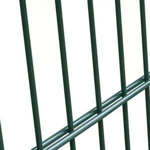 Poartă 2D pentru gard (simplă) 106 x 130 cm, verde