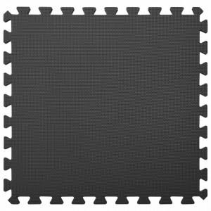 Saltele de exerciții, 6 buc., negru, 2,16 ㎡, spumă EVA