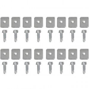 Set 4 cremaliere din nailon pentru porți glisante