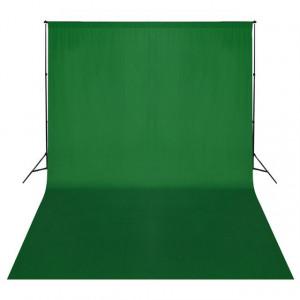 Sistem de suport fundal, 500 x 300 cm, verde