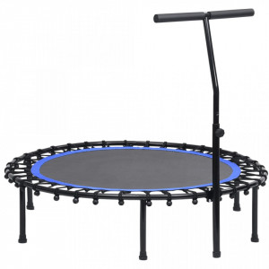 Trambulină de fitness cu mâner, 122 cm