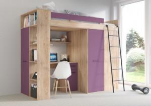 Verana Right-Sided Sonoma Bright/Purple