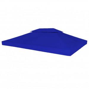 Acoperiș pavilion, 2 straturi, 310 g/m², 4x3 m, albastru