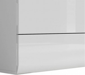 Azteca 007 comoda kom4s/8/11 white/white high gloss