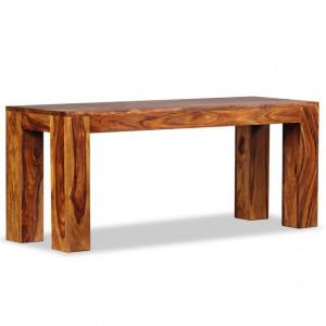 Bancă din lemn masiv de sheesham 110x35x45 cm